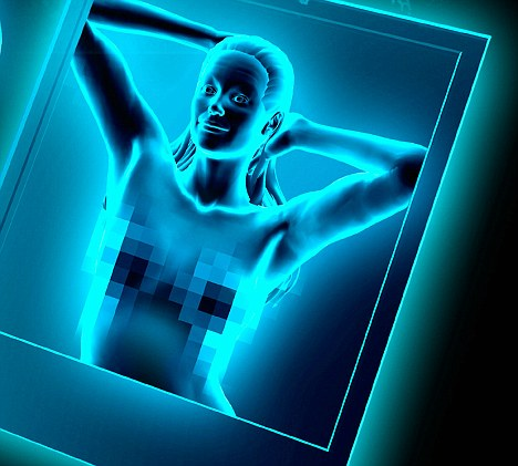 X-ray See through Clothes