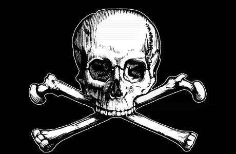 the enigmatic image of the skull and crossbones is deeply