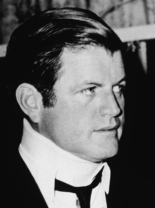 In 1969 after four days of intense medical treatment for a barely reported vehicular incident on Chappaquiddick Island, Senator Edward M. Kennedy made a low-key public appearance in a neckbrace. <span class=EditorText>An installment of our variation of Eric Lipps <a href=http://www.todayinah.co.uk/index.php?thread=EMK_69>No Chappaquiddick</a> thread where JFK survives Dallas.</span>