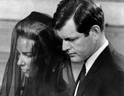 ted kennedy family. Edward Kennedy, to their pew
